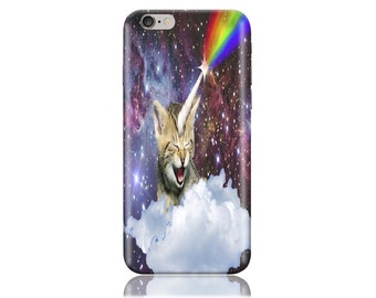 For Samsung J1 / Amp 2 #Rainbow Cats Design Hard Phone Case