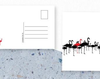 Flamingo Card A6