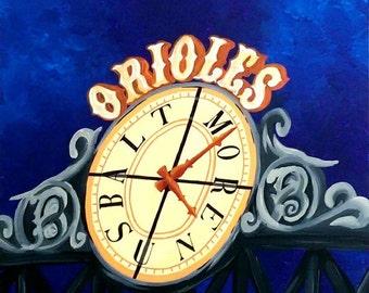 Camden Yards Clock