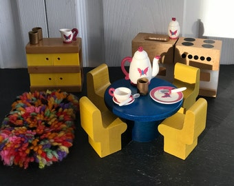 Vintage Doll Furniture, All for one price