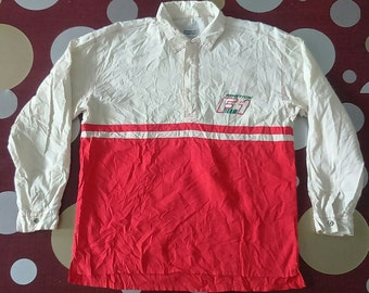 Hot Sale, Rare Vintage BENETTON F1 TEAM Polo Shirt Size L