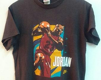Rare Vintage NIKE AIR JORDAN Tshirt Size M