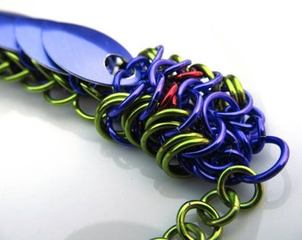 Chainmaille Dragon Bracelet