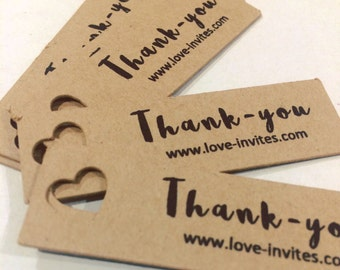 Product labels | mini Shop tags | product thank-you tags | favor tags | custom thank you | thankyou tags | bonbonniere tag | wedding favor