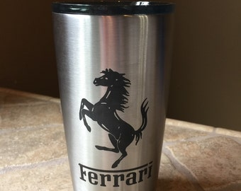 Personalized  Laser Engraved Stainless Steel Tumbler 20oz by Ozark Trail