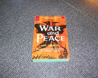War and Peace by Leo Tolstoy Pb 1962 3rd Printing Vintage