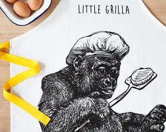 Kids Barbecue Apron- Little Grilla