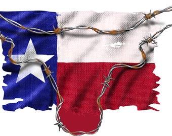 texas longhorn flag decal, full color texas flag decal, texas flag sticker, texan flag laptop sticker, vinyl decal, vinyl sticker