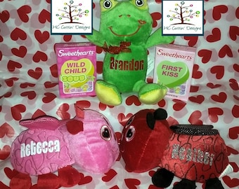 Personalized Valentine Plush