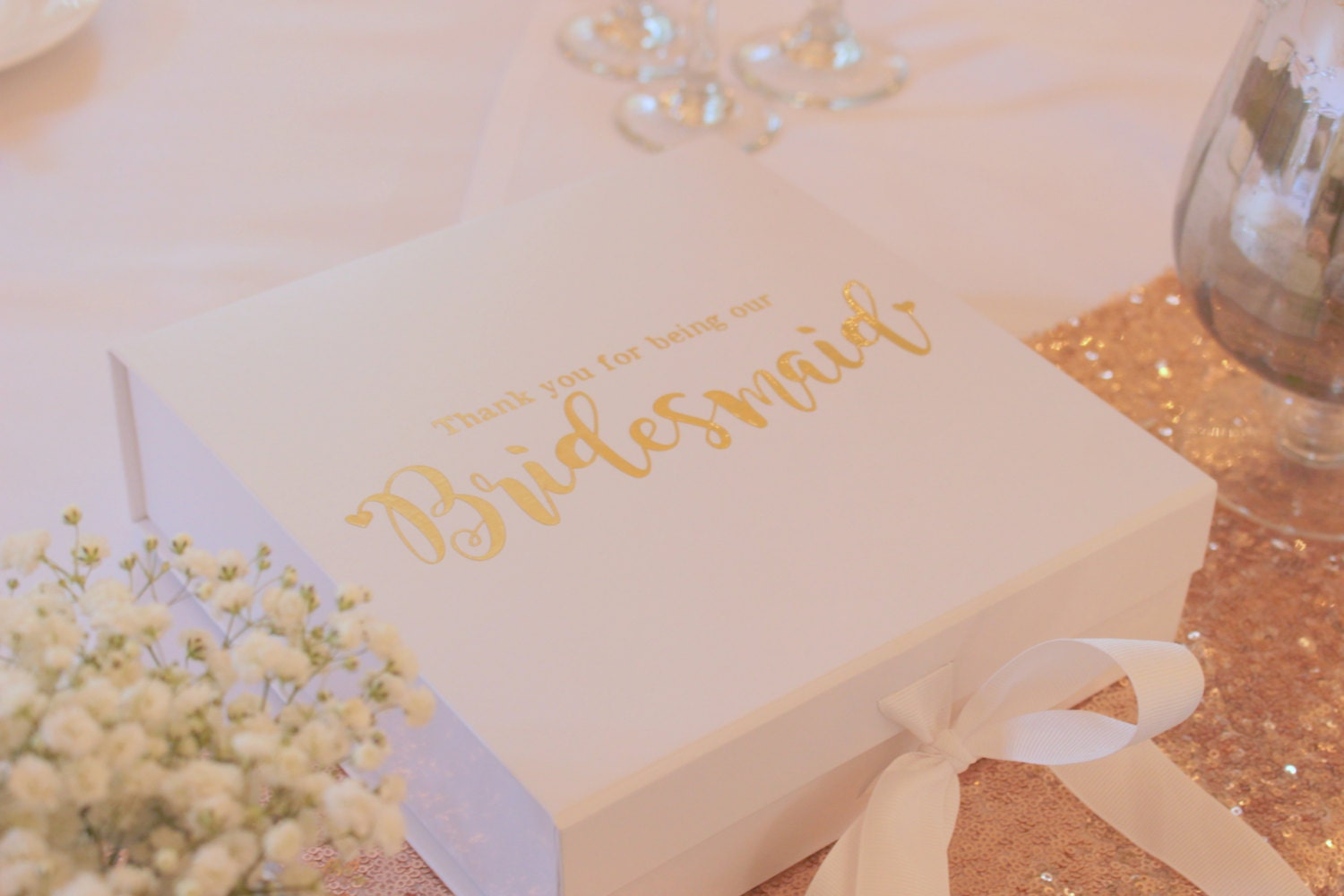 Wedding Gift Boxes: Gift Box Personalised Gift Box Wedding Gift Box Bridesmaid