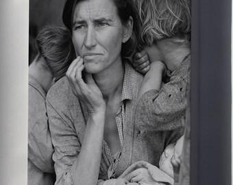 Canvas 16x24; Migrant Mother Dorothea Lange