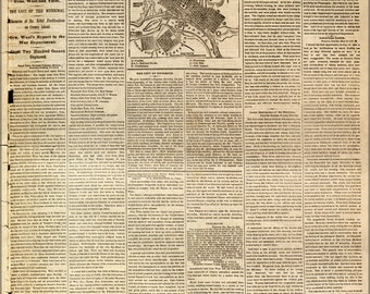 16x24 Poster; Nyt 1862 Richmond, Virginia And Its Defenses