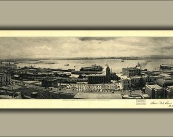16x24 Poster; View Of Harbor San Juan Puerto Rico 1927