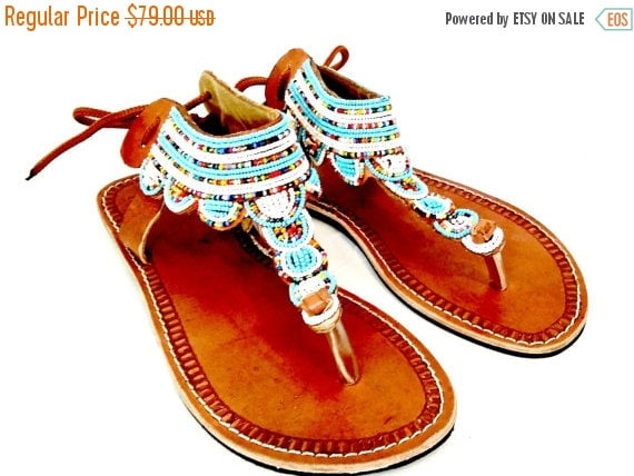 Disney Moana Girls Beaded Sandals