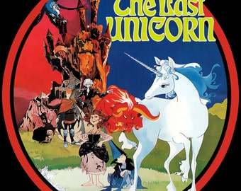 The Last Unicorn Vintage Image T-shirt