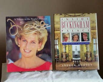Diana A Tribute to the People's Princess AND Inside Buckingham Palace, Private World of the Royal Family, Princess Diana,Windsors,England