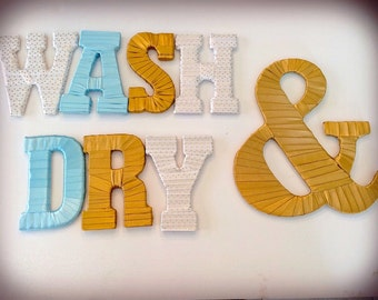 Laundry Wall Decor laundry room decor | etsy