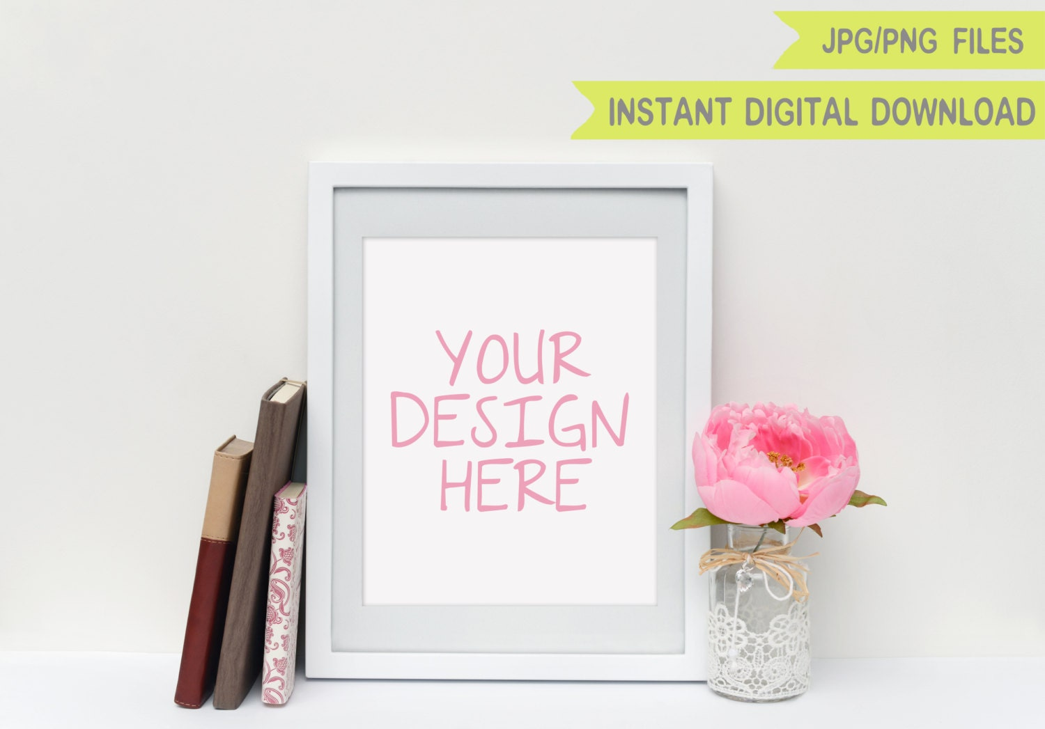 8x10 mockup white frame mock up digital white frame 8x10 frame mockup frame download photo frame mockup white frame mockup digital