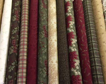 Forever Green/Fat Quarters/ Half Yards/Create Your Own Bundle