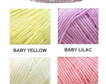 Yarn - Oxford Baby Wool -  Various Colors