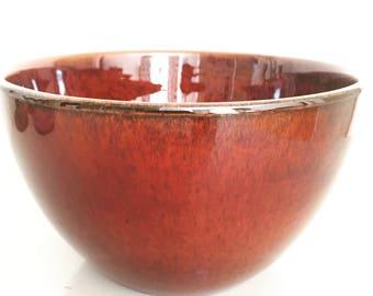 Upsala Ekeby/Gefle/Bowl/Berit Ternell/Upsala ekeby/1960s/scandinavian modern/midcentury