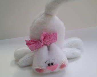 Kitten Shelf Sitter - kitten decor - kitten doll - kitten home decor - cat shelf sitter - cat lover gift - shelf sitter cat