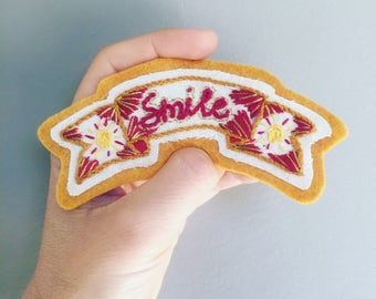 "Patch ""Smile"""