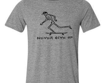 skater skateboarding t shirt