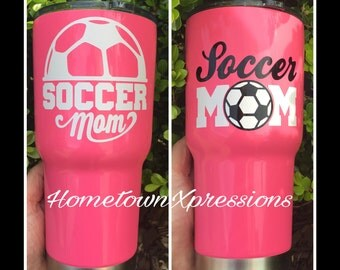Soccer mom car, yeti, tumbler, laptop, RTIC, mug, etc decal