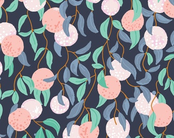 Garden Fabric - Bird's Eye View by Sarah Watson for Cloud9 Fabrics - The Bare Necessities - Organic Fabric By the Half Yard