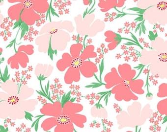 Tropic Floral - Tropic Like It's Hot - Dear Stella Fabrics - Fabric By The Half Yard