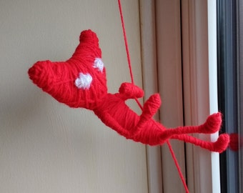 Poseable Yarny Doll - Unravel