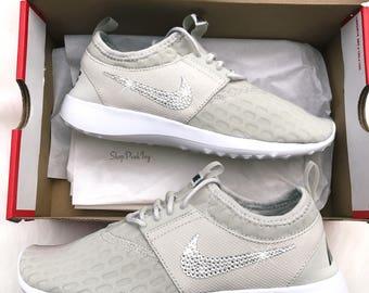 Bling Nike Shoes Juvenate Customized With Swarovski Crystals