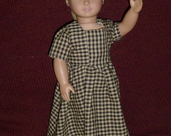Colonial Doll Dress