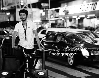 Bike Taxi, Times Square, NYC, Street Photography, Fine Art Photography, Fine Art Print