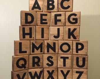 Scrabble Tiles - Scrabble Blocks - Block Letters - Giant Scrabble