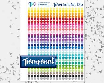 Transparent Mini Dots [129]