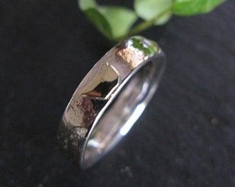 Mens Wedding Band Viking Wedding Ring Silver Gold Mens Wedding Bands Vintage Wedding Ring Mens Wedding Ring Unique Mens Wedding Band Rustic