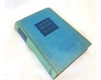 John Steinbeck Of Mice and Men Hardcover Book