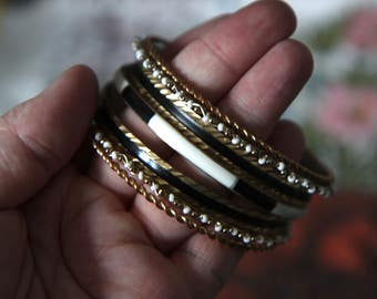 Mixed Lot of Antique Vintage Bangle Bracelets