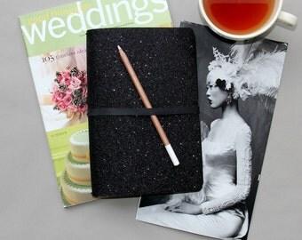 Wedding Guest Book, Wedding Guest Book Alternative, Wedding Guestbook.  Modern Black, For Instax Photos, Fun Wedding Guestbook Alternative