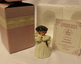 Maude Humphrey Bogart School Days H1318 collectible figurine 1988