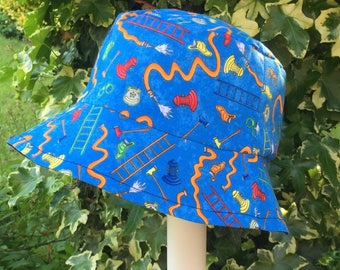 Handmade Boys Bucket Sun Hat To The Rescue