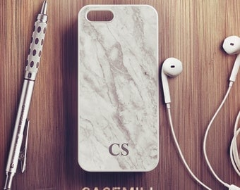 Custom Name Marble iPhone 7 Case Personalized iPhone 6s Case iPhone 6 Plus Case iPhone 6s Plus Case Monogram iPhone 5s Case iPhone 5c Case