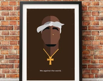 2Pac Original Icon Print (Icon Series)