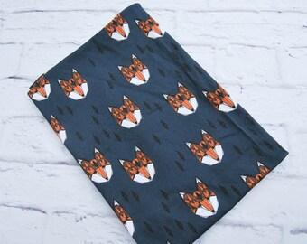 Newborn Swaddle set, Swaddle Blanket for boy, Receiving blanket, Newborn swaddle, Fox baby blanket, Swaddle, Blanket for baby, New baby gift