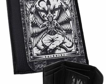 OCCULT Wallet BAPHOMET Card