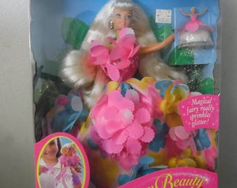 Blossom Beauty with Magical Fairy Barbie Doll