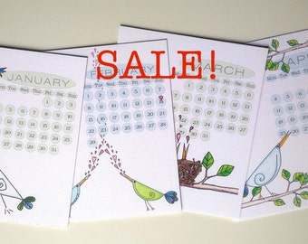 Sale! 2017 Beaky Birdies CD Calendar Refill, UK & US Layouts