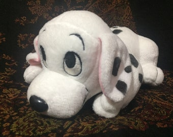 Vintage 1996 Disney Enterprises 101 Dalmatian stuffed dog Penny stuffed plush